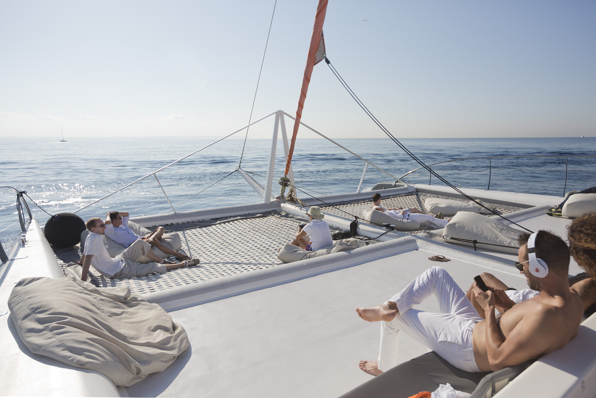 Party Boats and Catamarans for Events in Mallorca and Ibiza.