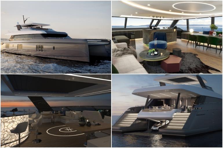 The exclusive Catamaran of Rafa Nadal