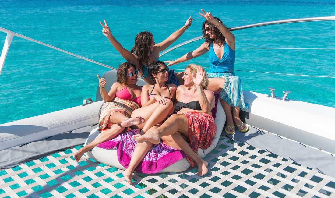 Large party boats mallorca