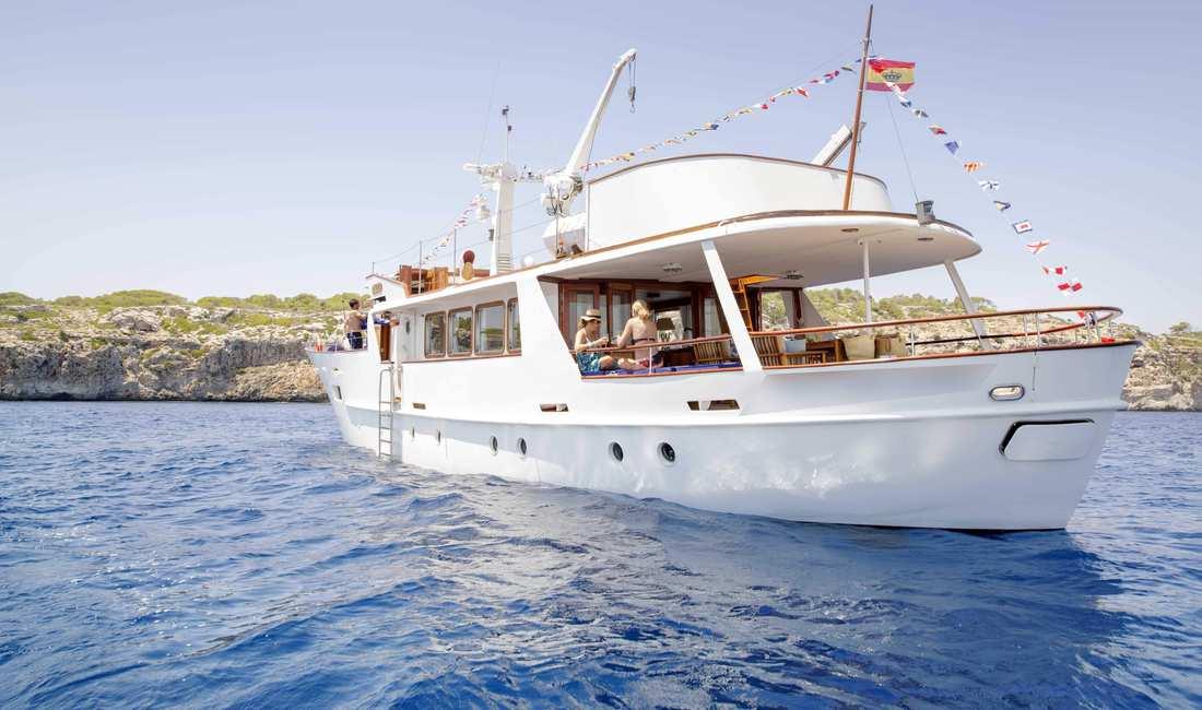 Barco evento mallorca