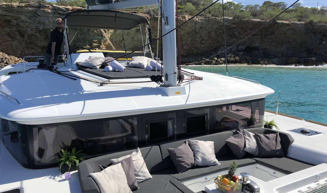 catamaran ibiza rental